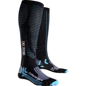 X-Bionic Effektor Competition Long Socks Women Black/Turquoise